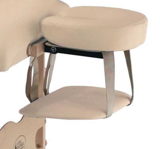 Custom Craftworks Massage Table Hanging Arm Rest Shelf, Classic