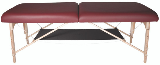 Custom Craftworks Massage Table Under Table Shelf