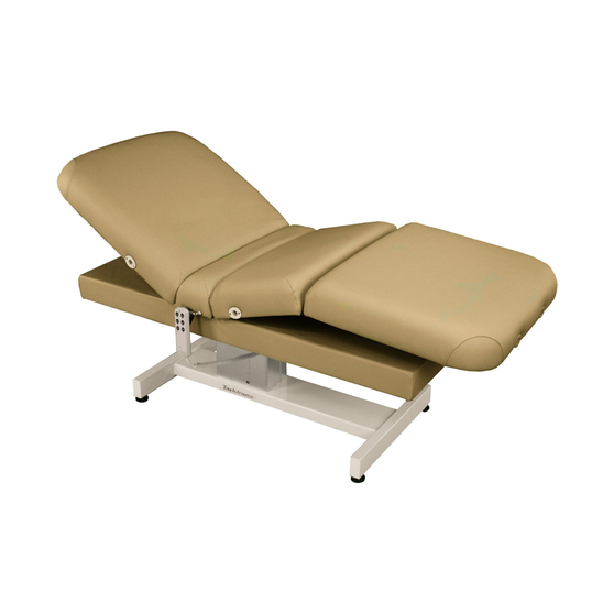 Touch America Powered Lift Spa Treatment Table, VENETIAN PowerTilt, Camel