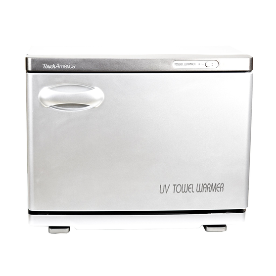 Touch America UV Sanitizing Hot Towel Cabinet, STANDARD