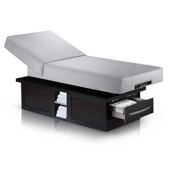 Earthlite Electric Lift Massage Table, Tilt, EVEREST ECLIPSE, Sterling