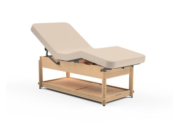 Oakworks Massage Table, Manual Adj Lift-Assist Backrest