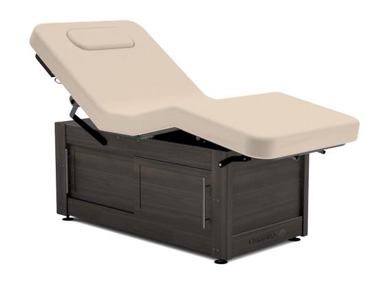 Oakworks Massage Table, Electric/Hydraulic Salon, CLINICIAN PREMIERE