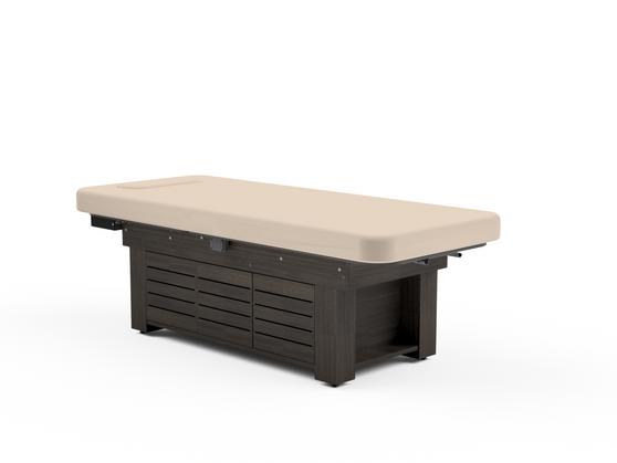 Oakworks Spa Electric Flat Top Table, CLODAGH GEMINI, Cabinet
