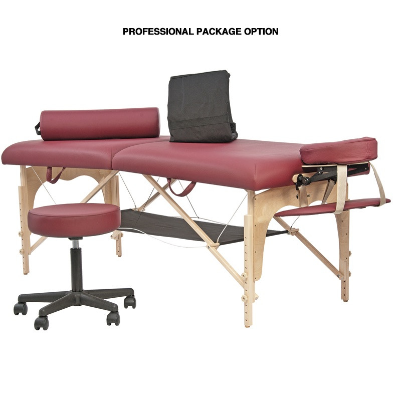 Custom Craftworks Athena Massage Table - Professional Package