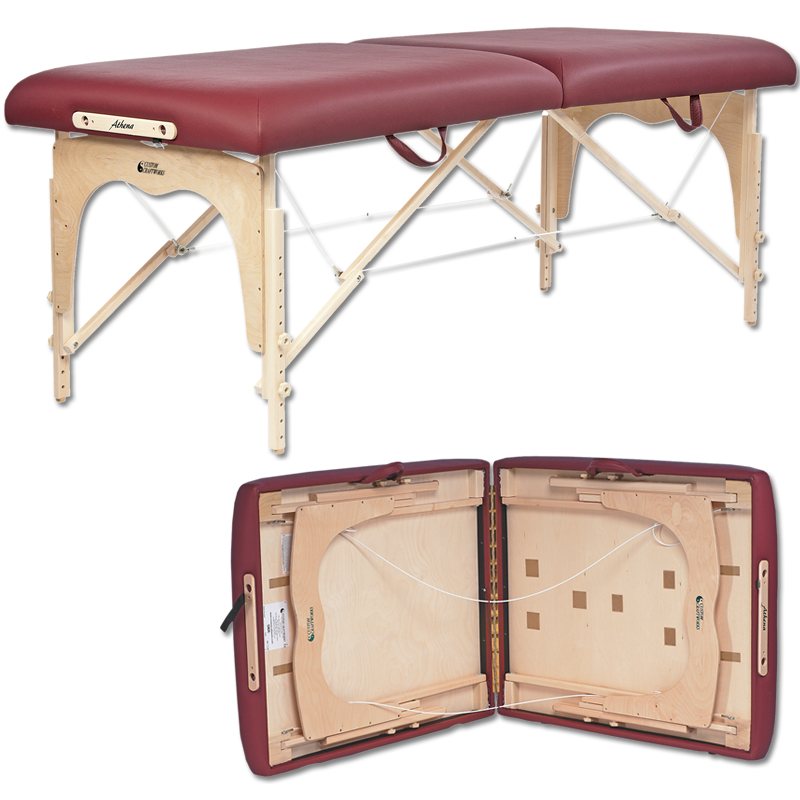 Custom Craftworks Athena Massage Table-folded