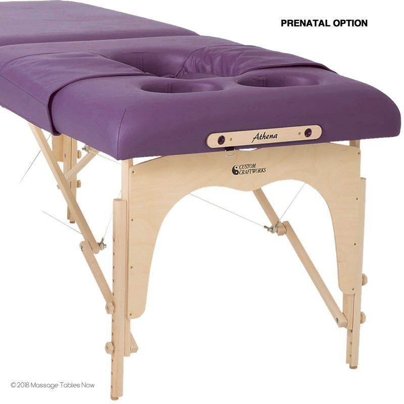 Custom Craftworks Athena Massage Table - Prenatal