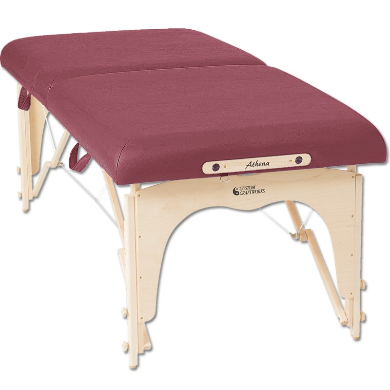 custom craftworks athena massage table massagetablesnow com rh massagetablesnow com