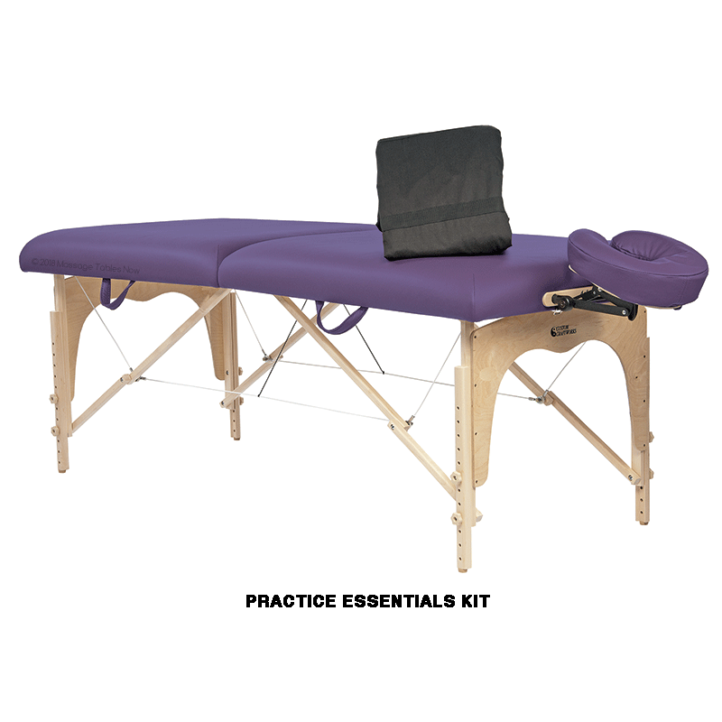 Custom Craftworks Omni Portable Massage Table-Essential Package
