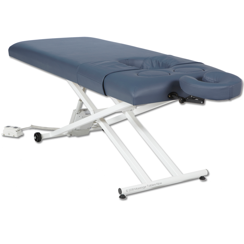 Custom Craftworks Classic Pro Basic Electric Lift Massage Table-Prenatal