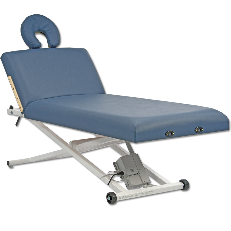 Custom Craftworks Classic Pro Lift Back Electric Massage Table