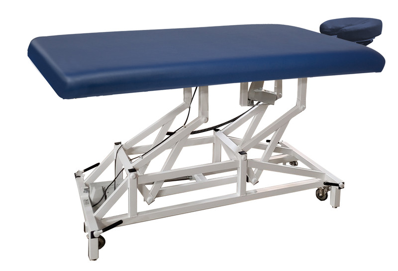Custom Craftworks Mckenzie Basic Electric Lift Table, with head rest
