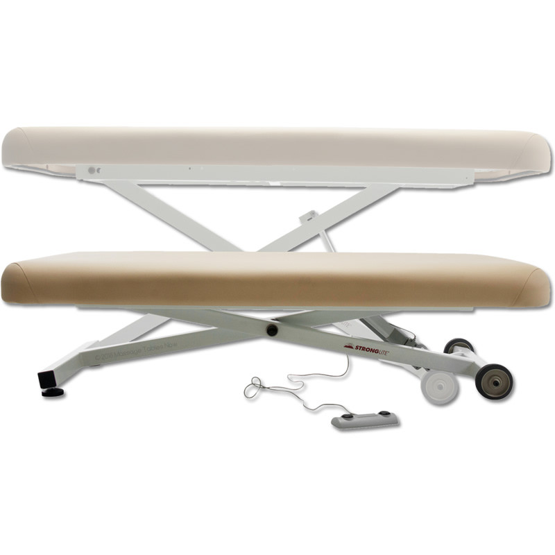 Stronglite Ergo Lift Massage Table-positions
