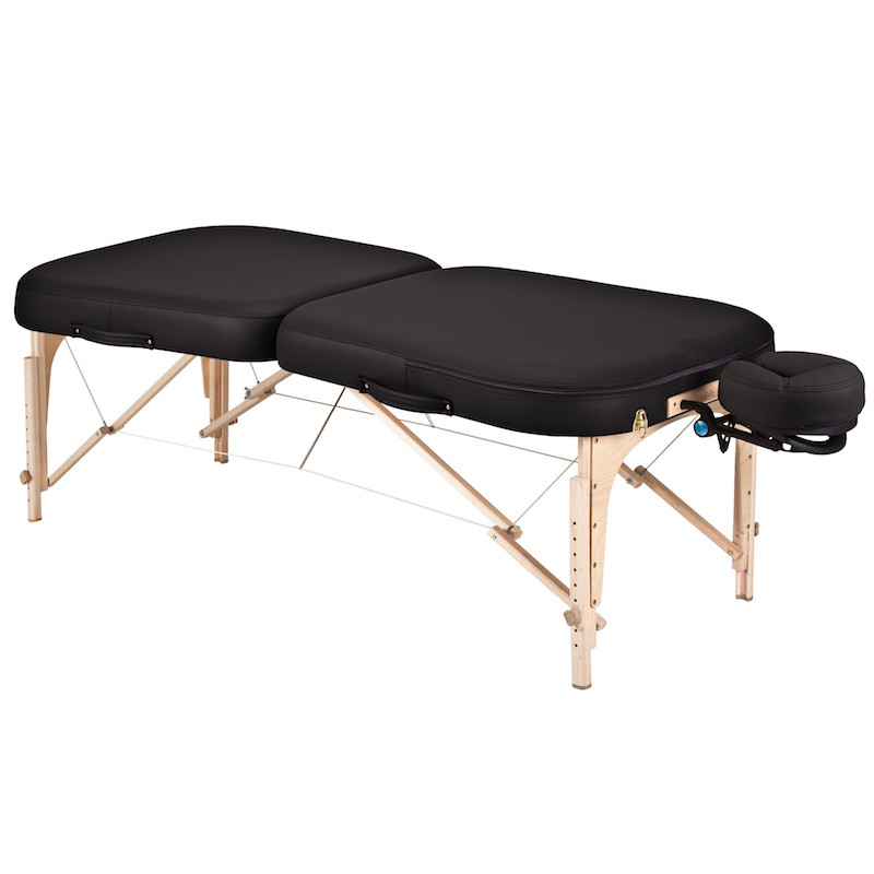 Earthlite Infinity Conforma Portable Massage Table black