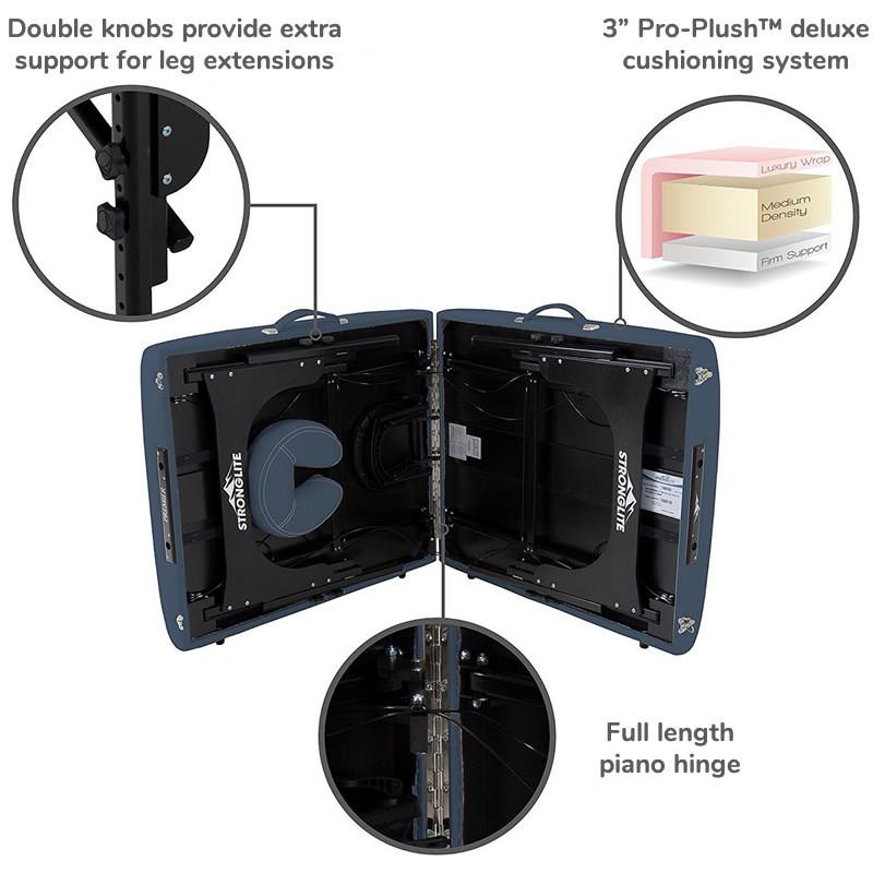 Stronglite Premier Portable Massage Table-features