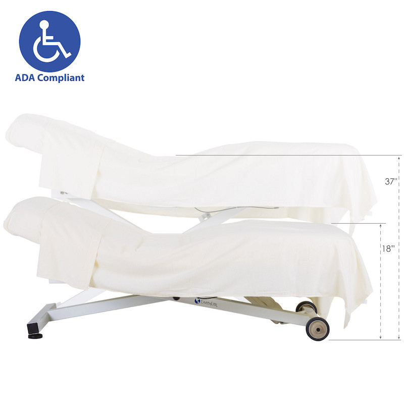 EarthLite Ellora Salon Stationary Massage Table-ADA height range