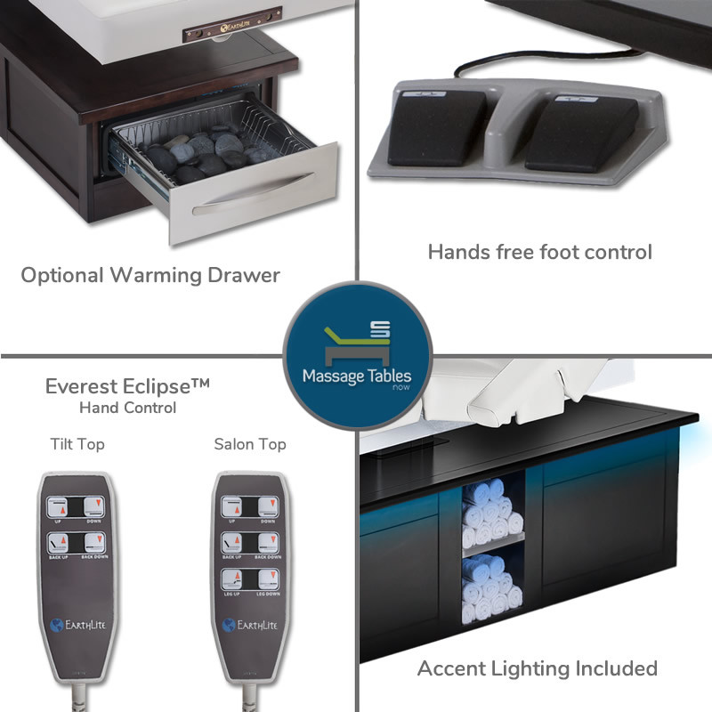 Everest Eclipse Electric Salon - features 1