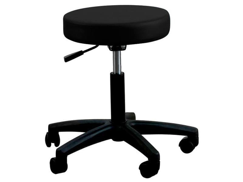 Oakworks Massage Therapist Basic Rolling Stool Black