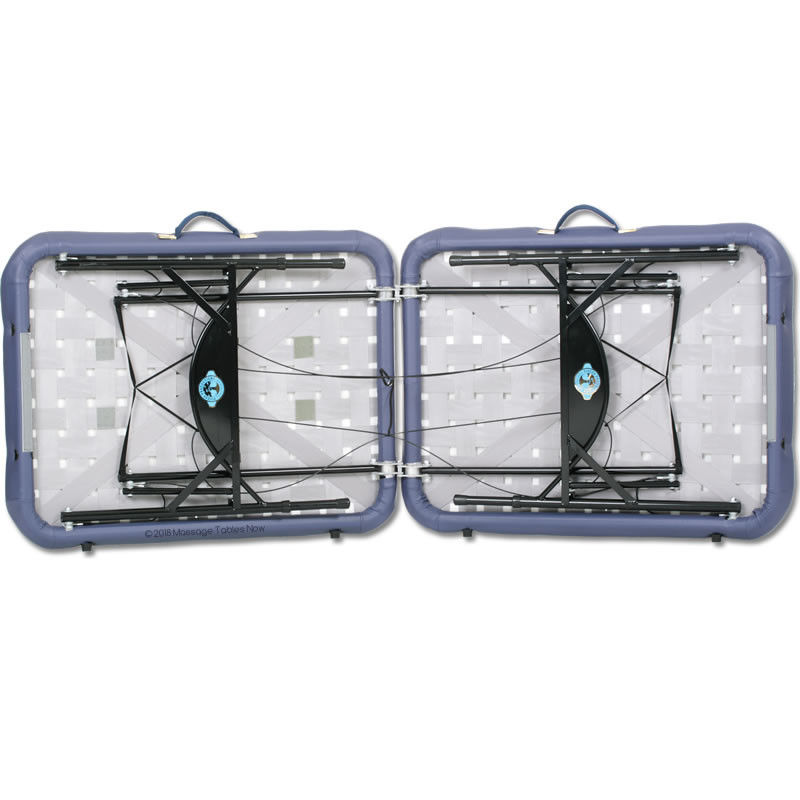 Pisces Pro New Wave II Lite Portable Massage Table-underneath