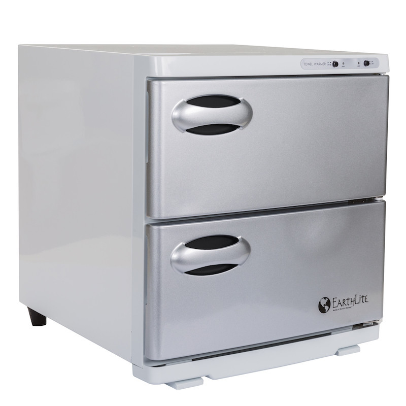 Earthlite Large Double Door UV Hot Towel Cabinet