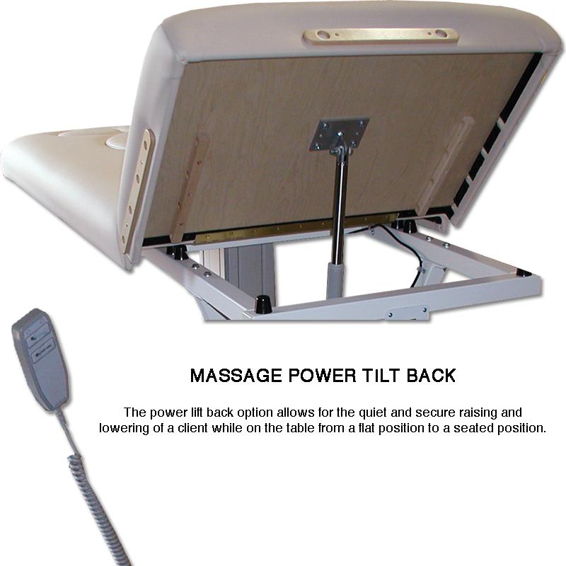 Custom Craftworks Mckenzie Deluxe Electric Massage Table-powerlift