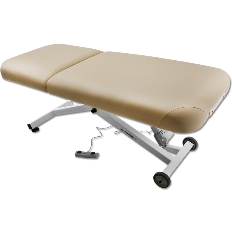 Stronglite Ergo Lift Tilt Massage Table-flat