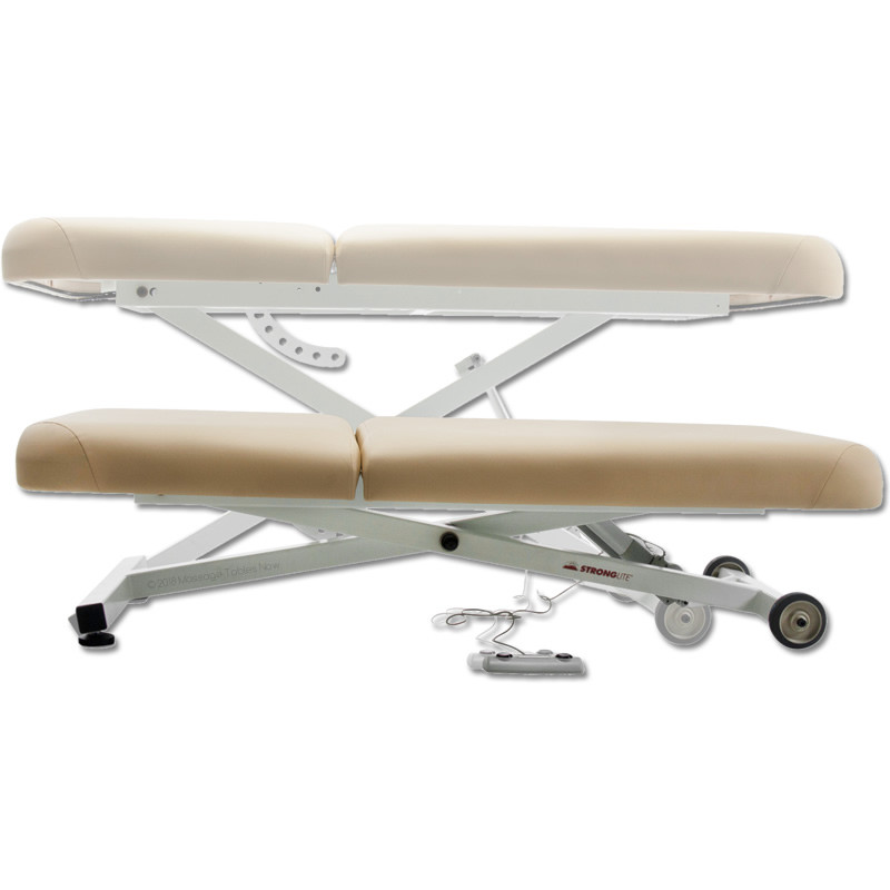 Stronglite Ergo Lift Tilt Massage Table-lift positions