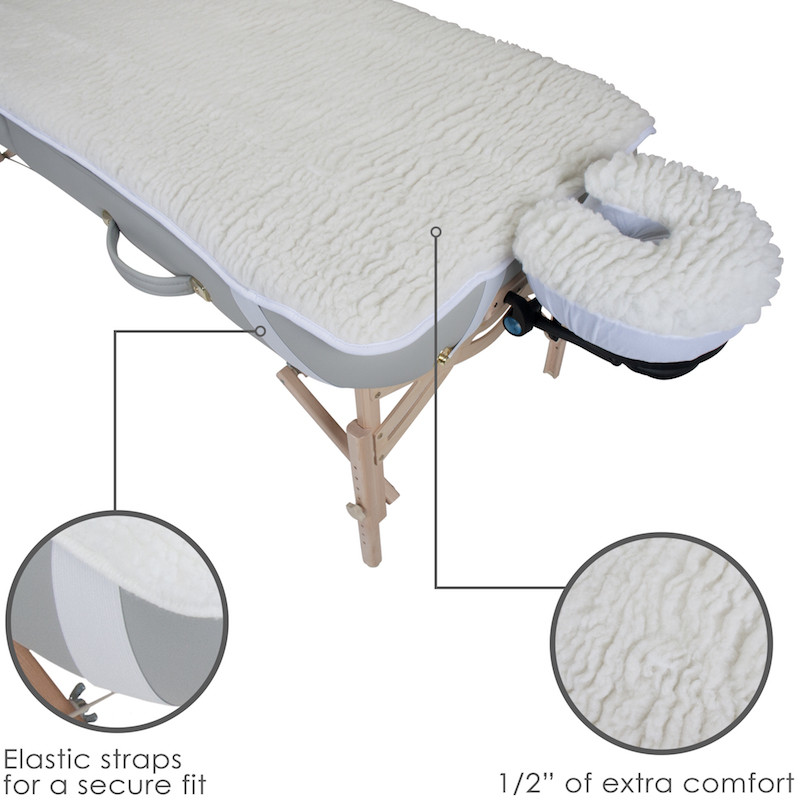 EarthLite Basics Fleece Pad Set - features