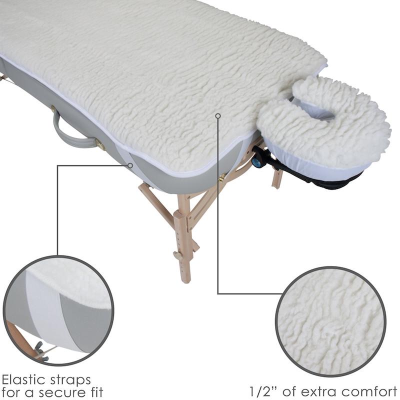 Earthlite Basics Fleece Pad Set - features