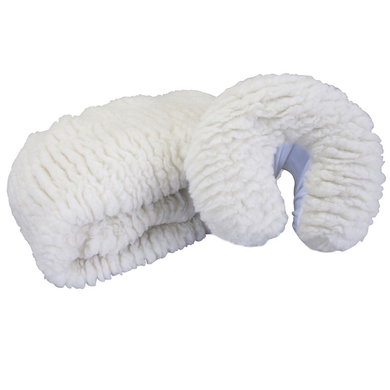 Earthlite Deluxe Fleece Pad Set - folded