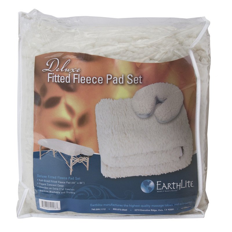Earthlite Deluxe Fleece Pad Set - package