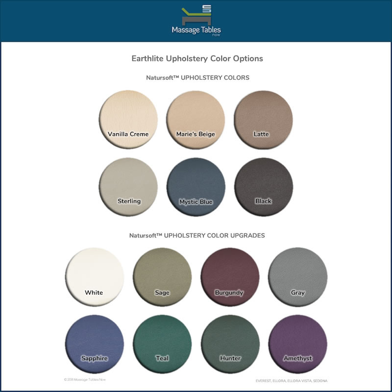 Earthlite Salon Accessories Package - colors