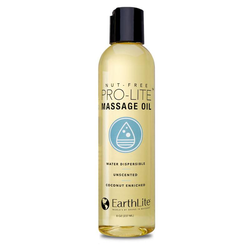 Earthlite Pro-Lite Massage Oil - 8oz bottle