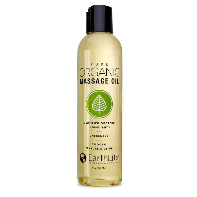Earthlite Pure Organic Massage Oil - 8oz