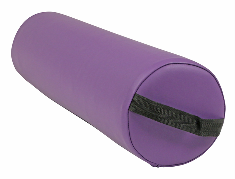 Custom Craftworks Massage Table Bolster, Solutions Ankle Round, Purple
