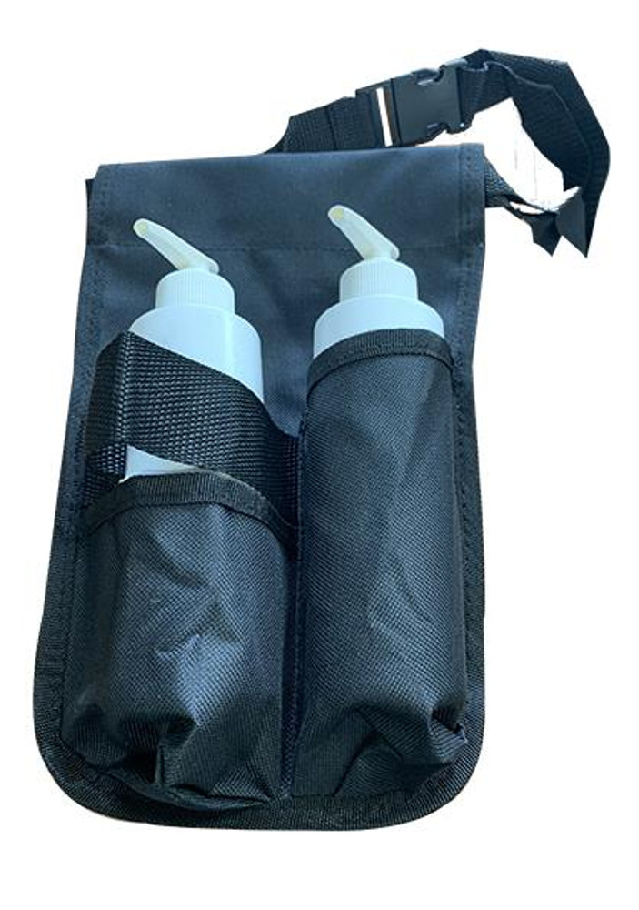 Custom Craftworks Oil Holster and BPA Free Pump Bottles, Double