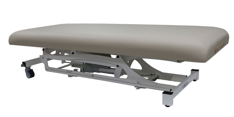 Custom Craftworks Classic Electric Massage Table, HANDS-FREE BASIC -  lowered