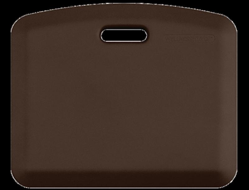 """Smart Step Wellness Mat, MobilePro 22"""" x 18"""", Brown"""