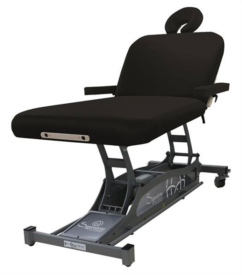 Custom Craftworks Signature Spa Series Hands Free Lift Back Massage Table