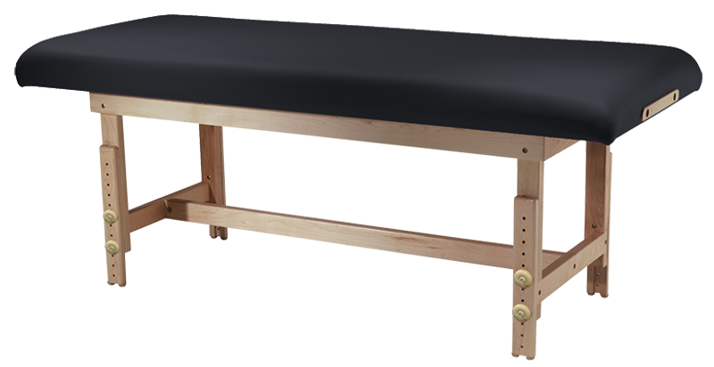 Custom Craftworks Classic Series Massage Table, TAJ MAHAL BASIC with H-Frame