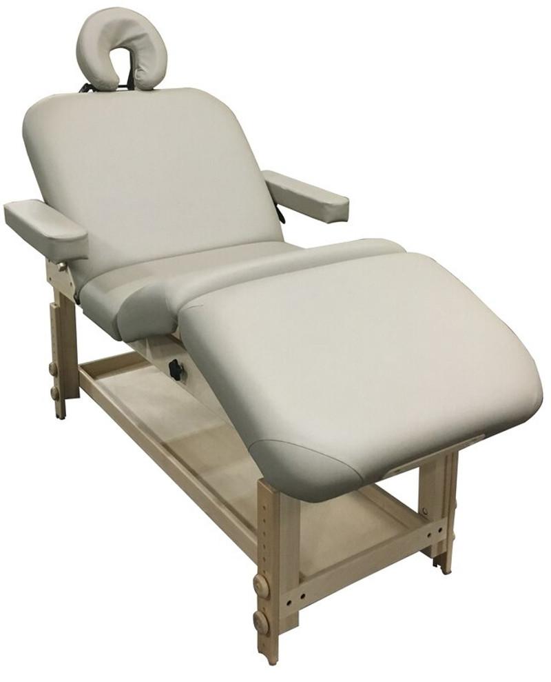 Custom Craftworks Classic Series Massage Table, TAJ MAHAL LIFT BACK