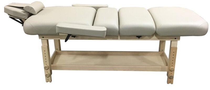 Custom Craftworks Classic Series Massage Table, TAJ MAHAL LIFT BACK, reclined