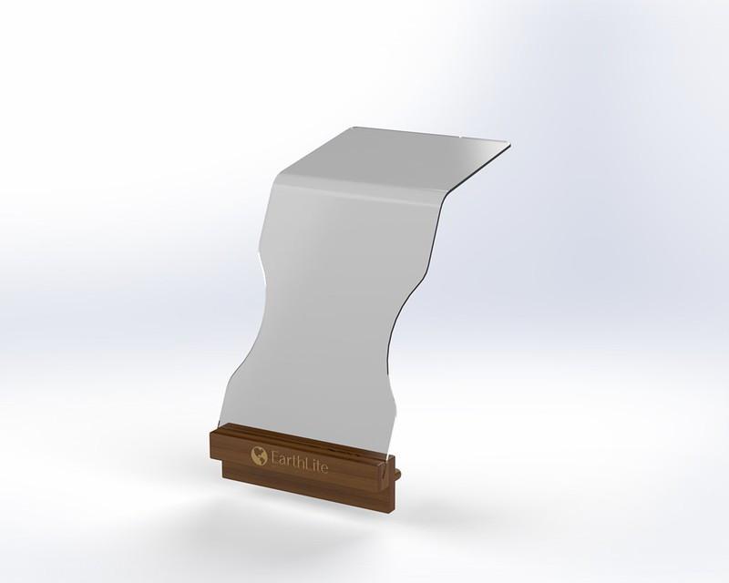 Earthlite Facial & Treatment Shield/Screen, SAFE-GUARD