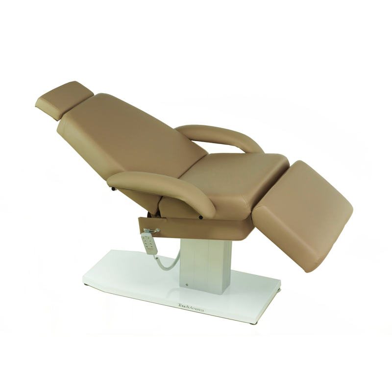 Touch America Spa Treatment Chair/Table, Powered Lift, EMPRESS, Camel