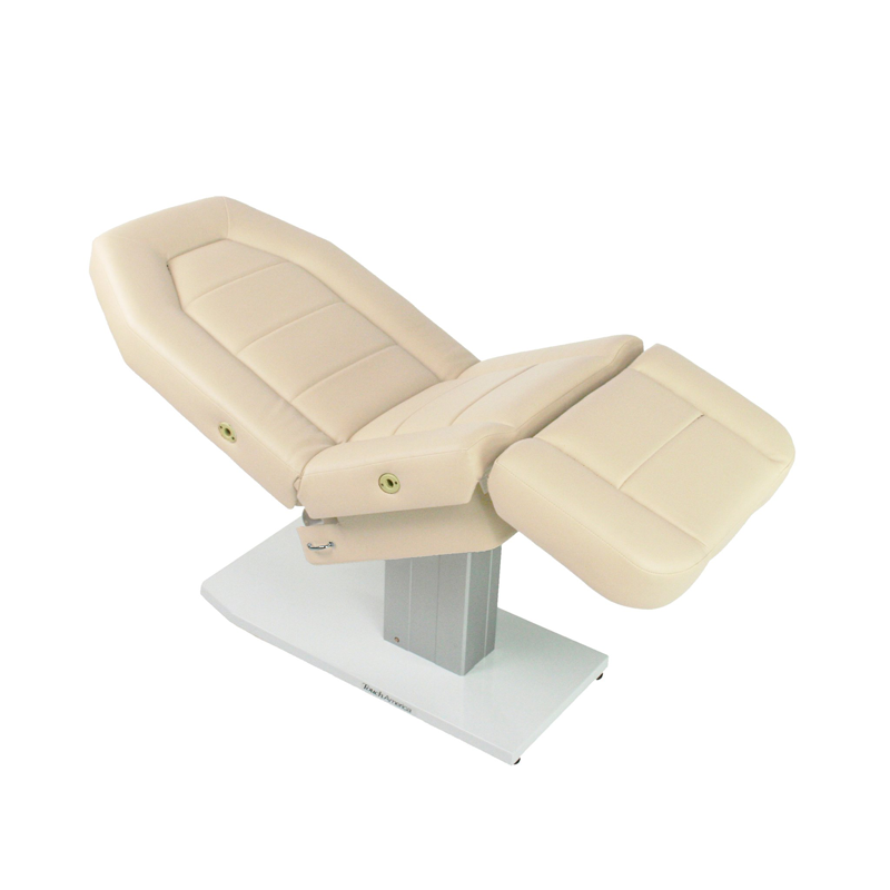Touch America Spa Treatment Chair/Table, Powered Lift, MARIMBA, Almond