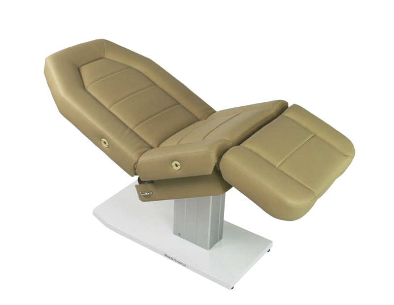 Touch America Spa Treatment Chair/Table, Powered Lift, MARIMBA, Camel
