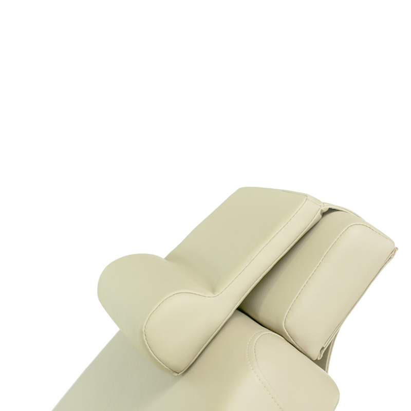 Touch America Treatment Table Salon Head/Footrest & Neck Bolster, Almond