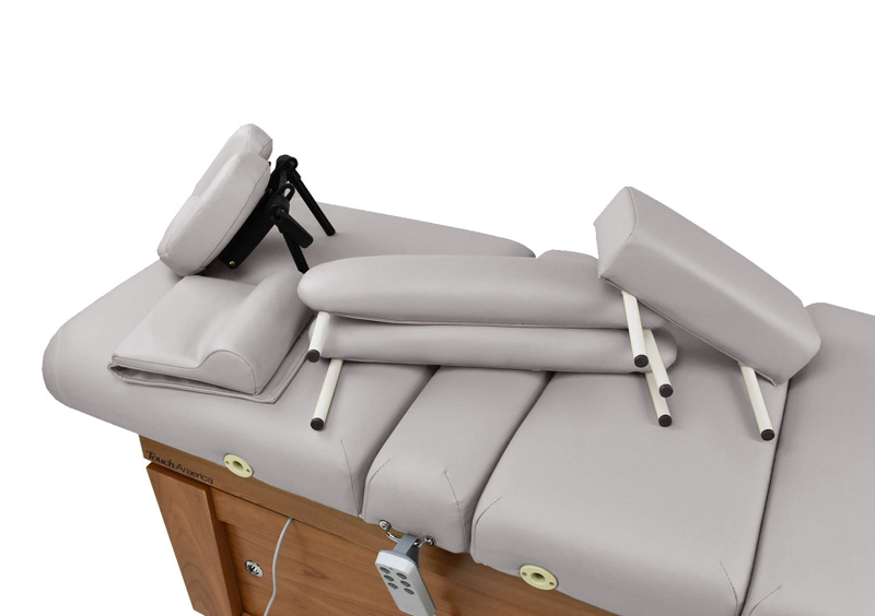 Touch America Massage Table High-End Accessory Package, Slate