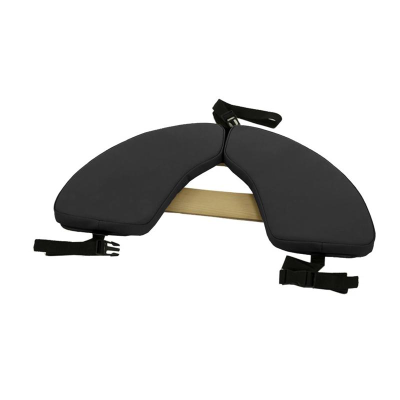 Touch America Massage Table Hanging Armrest Shelf, Black