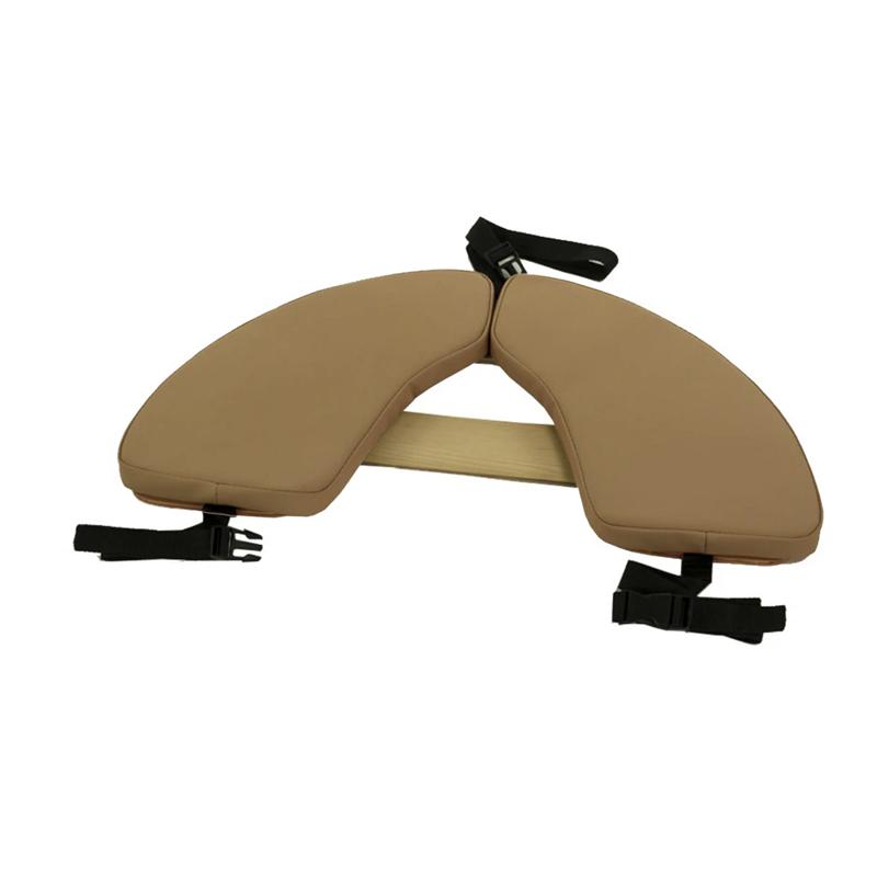 Touch America Massage Table Hanging Armrest Shelf, Camel